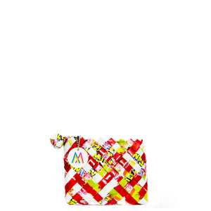 Red and Yellow Coin Purse/Card Holder