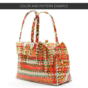 Mother Erth - Aztec Pattern Dog Tote | Upcycled and Eco Friendly