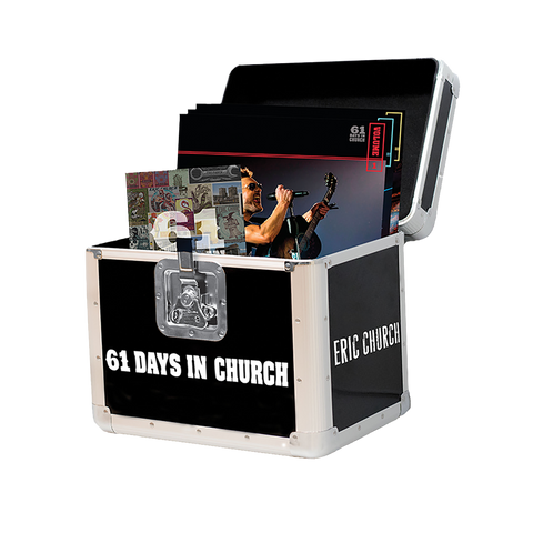61 Days In Church Box Set + Desperate Man Vinyl