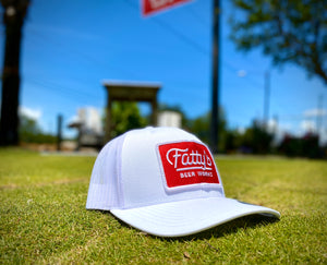 Fatty's Trucker Hat with Red Patch
