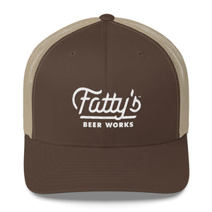 Fatty's Retro Trucker Cap