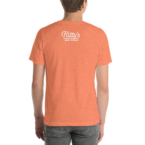Fatty's F Script T-shirt - Orange