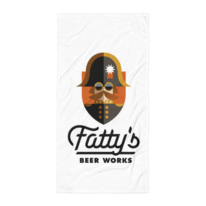 Fatty's Beach Towel