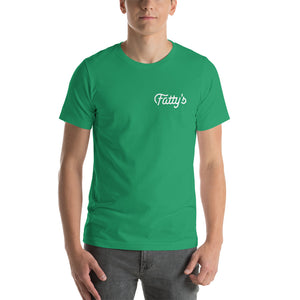 Fatty's First Shot Can Tshirt