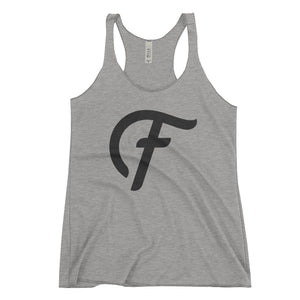 Fatty's Women's Racerback Tank - Gray
