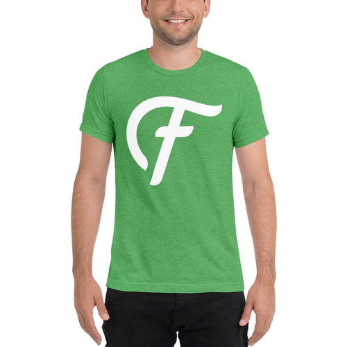 Fatty's F Script T-shirt - Green