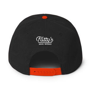 Fatty's Beer Works Snapback Cap