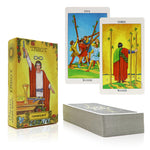 Traditional Style Tarot Cards - Patterned Back