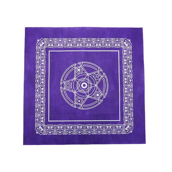Tarot Card Reading Tablecloth - Purple