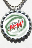 Do The Jew Bottle Cap Necklace