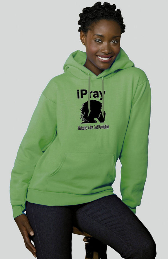 I Pray... Hooded Sweatshirt