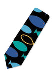 Colorful Christian Fish Necktie