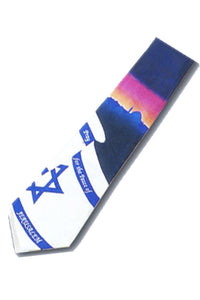 Pray for the Peace of Jerusalem Necktie