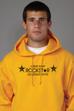 Jesus is my Rockstar Hooded Sweatshirt