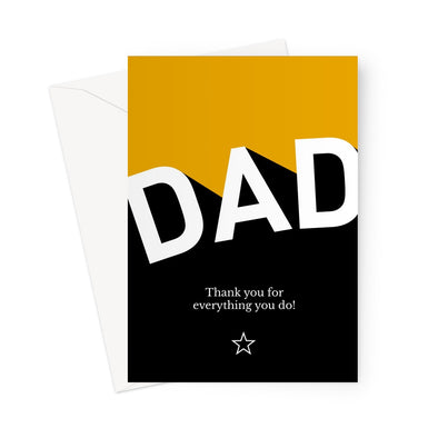 Dad Appreciation Greeting Card