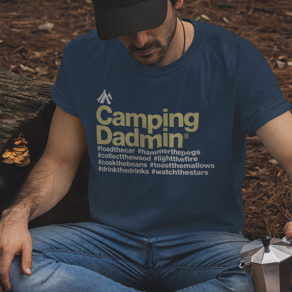 Camping Dadmin Icon - T-Shirt