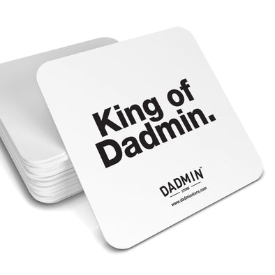 King of Dadmin Coaster