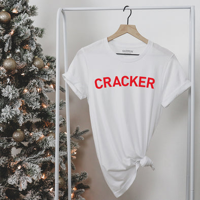 Cracker Rolled Sleeved Womens Tee Shirt