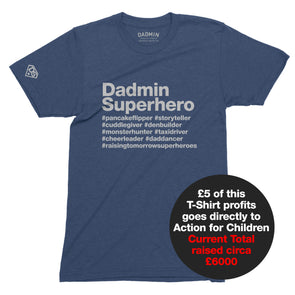Superhero Charity T-Shirt