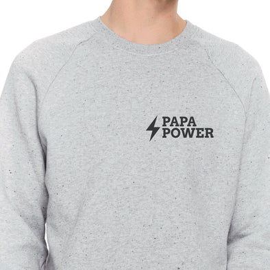 Papa Power Raglan Sweatshirt