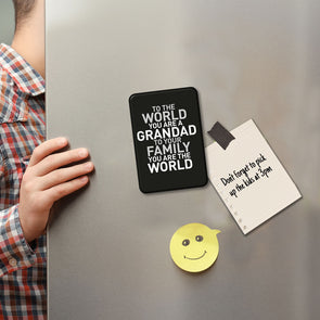 The World Grandad Large Magnet