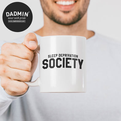 Sleep Deprivation Society Ceramic Mug 10oz