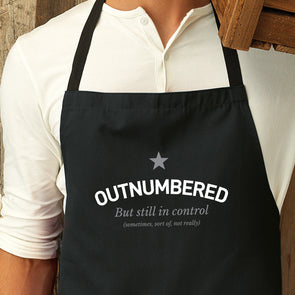 Outnumbered Apron