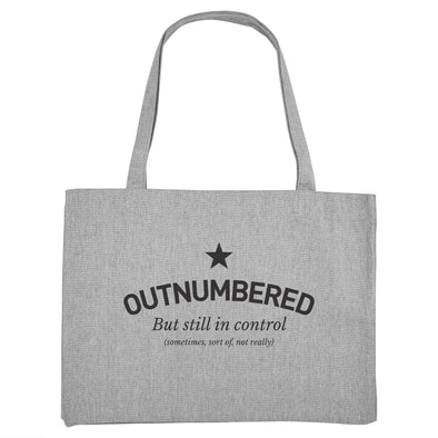 Outnumbered Tote / Shopper Bag