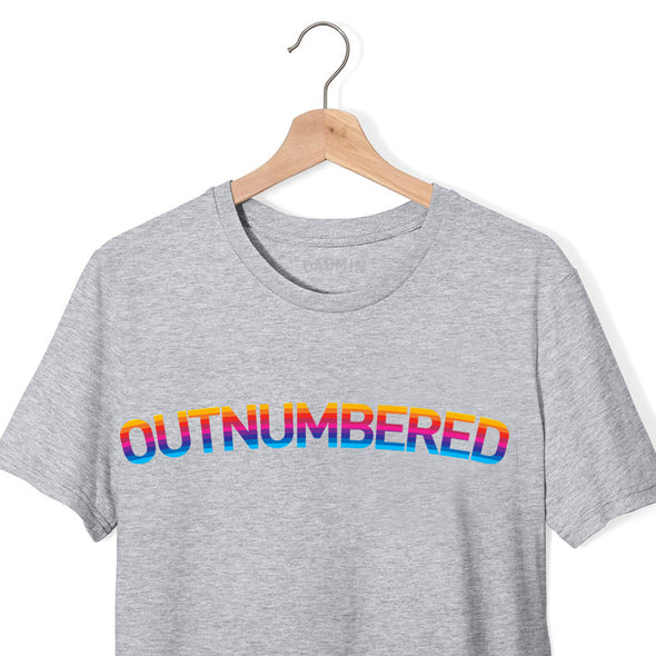 Outnumbered Rainbow - T-Shirt
