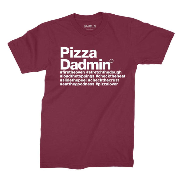 Pizza Dadmin T-Shirt