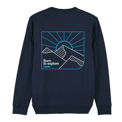 Born to explore DDMN - Backprint Sweatshirt