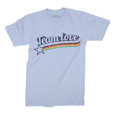 Team Love - Retro Kids Tee