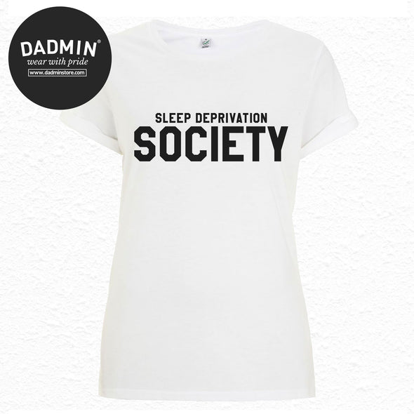 Sleep Deprivation Society Women's Rolled Sleeve T-Shirt