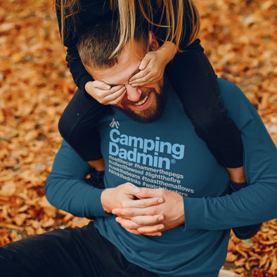 Camping Dadmin - Long Sleeved Tee