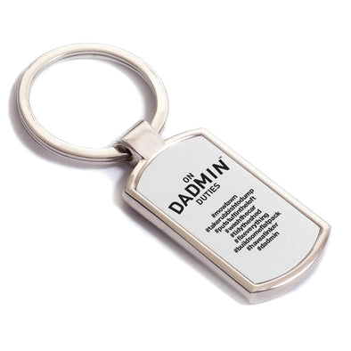 On Dadmin Duties Keyring