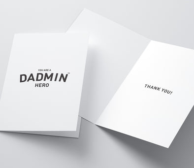 Dadmin Hero Card