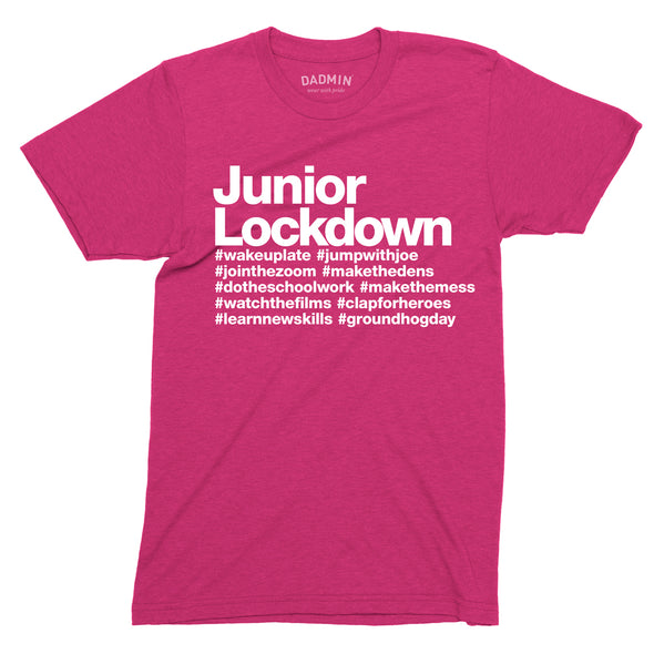 Junior Lockdown Personalised Tee