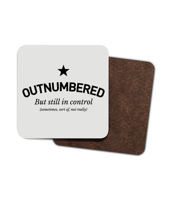 Outnumbered Coaster