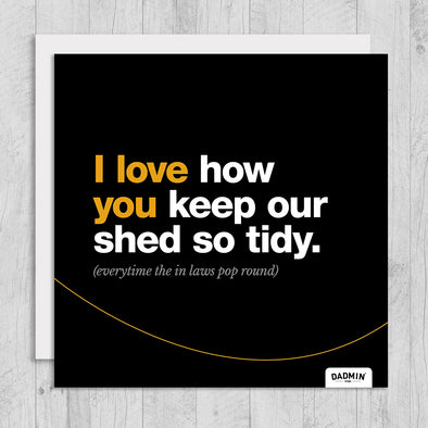 Shed - Greeting Card