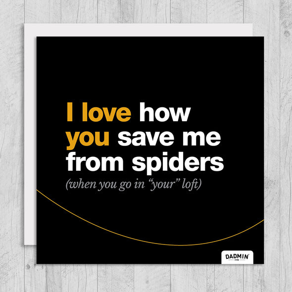 Spiders - Greeting Card