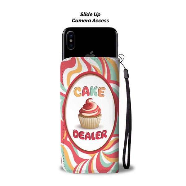 Cake Dealer Wallet Case