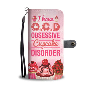 Obsessive Cupcake Disorder Wallet Case