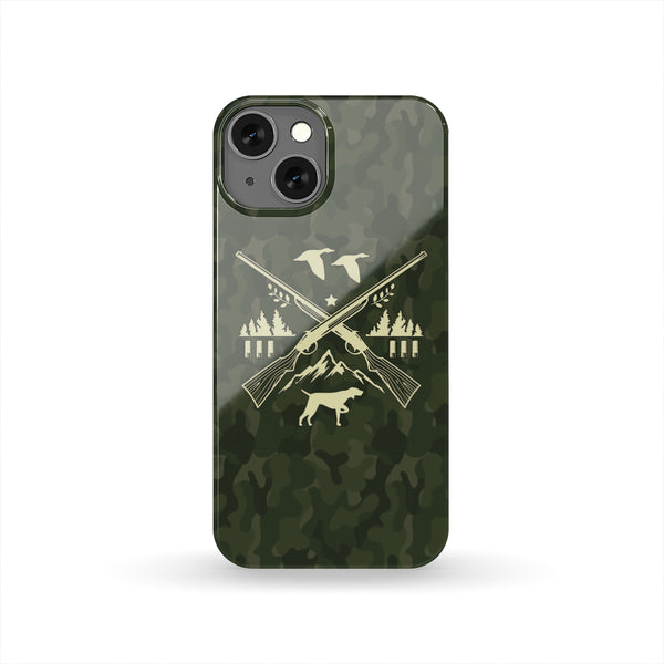 HARD SHELL PHONE CASE for DUCK HUNTERS
