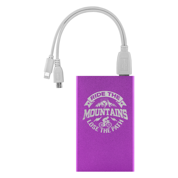 PORTABLE USB CHARGING BANK for MOUNTAIN BIKERS