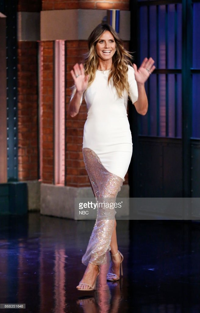 Heidi Klum wearing The Amal