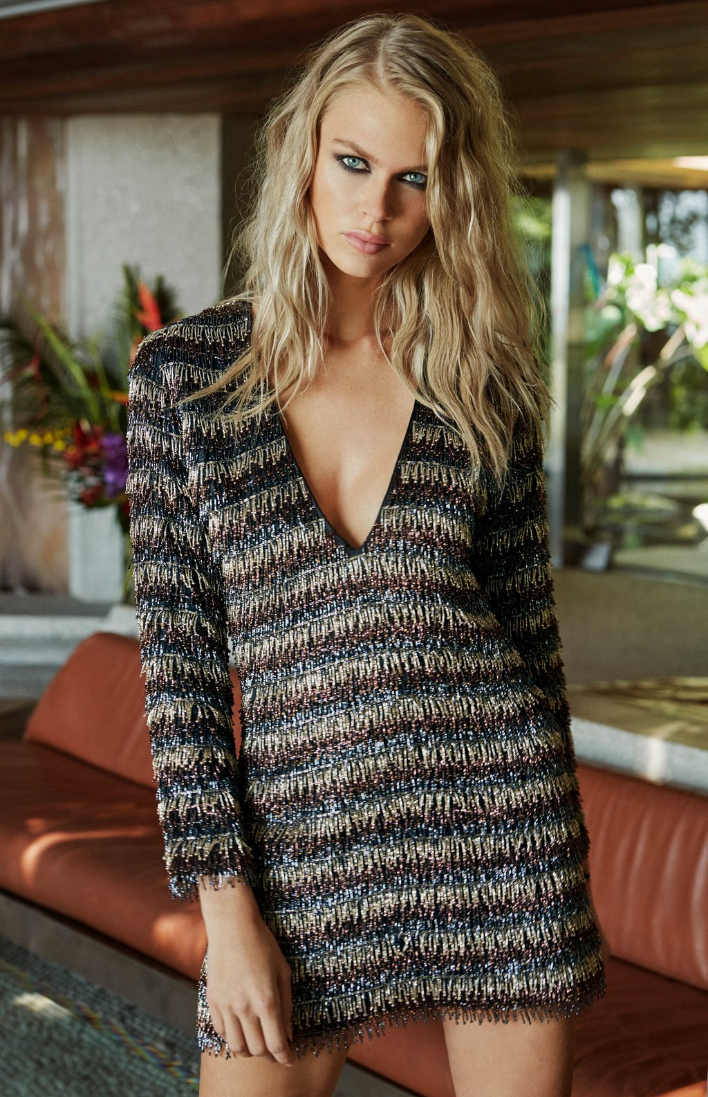 Hailey Beaded Dress