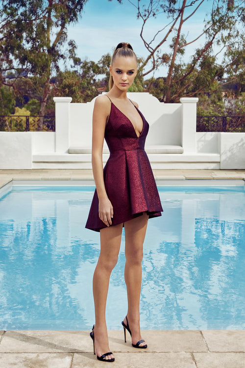 HANEY Elena Mini Dress