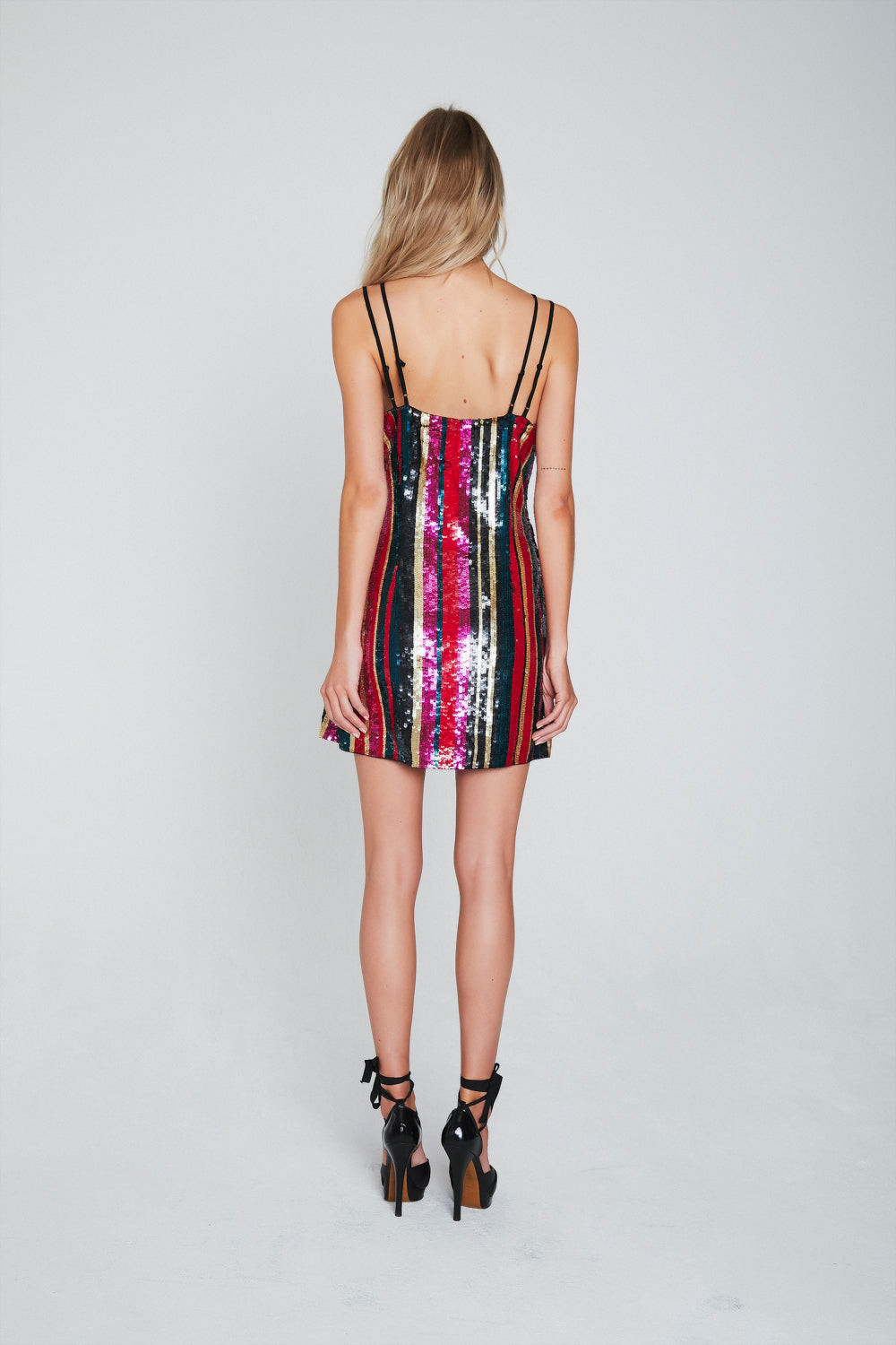 Elektra Sequin Mini Dress