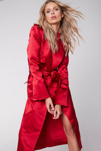 Laura Trench Dress