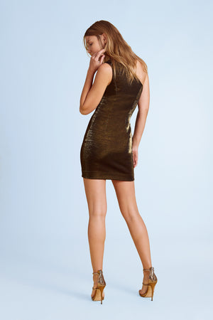 Dakota One-Shoulder Mini Dress